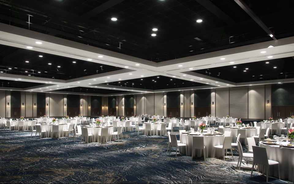 Event Venue Convention Centre with Tables