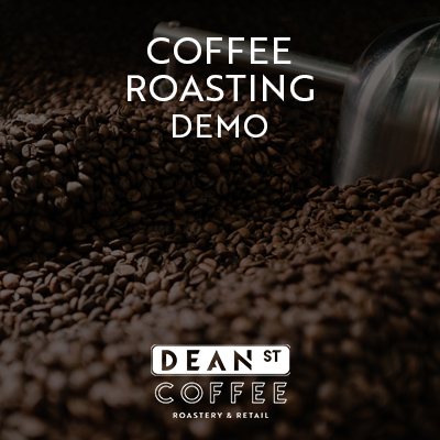 Coffee Roasting Demonstration at Dean St. Coffee Roastery