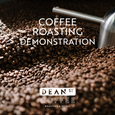 Coffee Roasting Demonstration at Dean St. Coffee Roastery 1