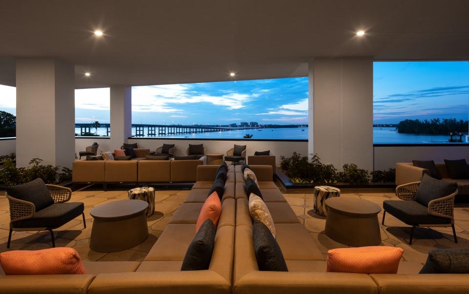 Luminary Pool Deck Lounge