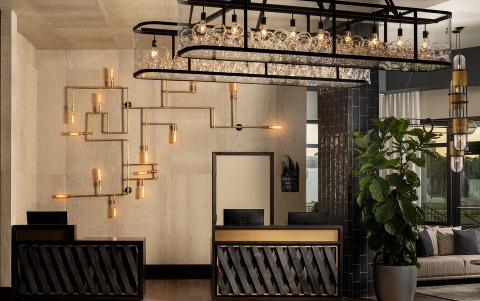 Luminary Hotel Reception Desk
