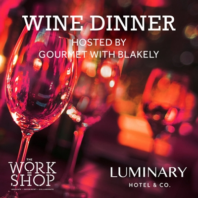 Wine Dinner Hosted by Gourmet with Blakely & Plumpjack Wines 1