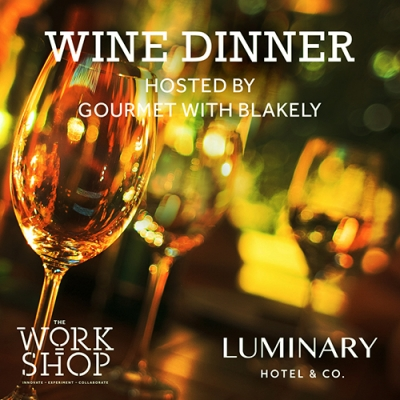 Wine Dinner Hosted by Gourmet with Blakely 2