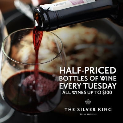 Wine Special Tuesdays at Silver King 1