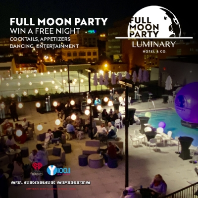 Full Moon Party on the Pool Deck - April