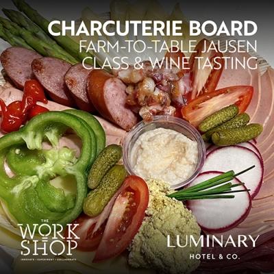 Charcuterie Board Class & Wine Tasting 2