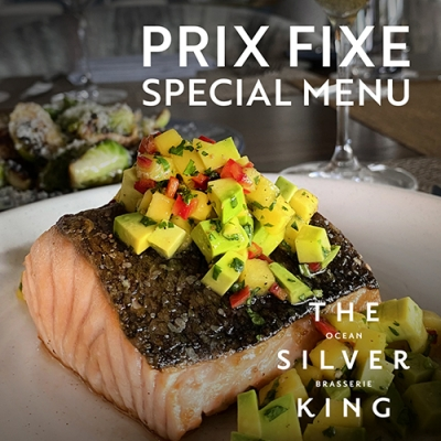 Prix Fixe Summer Special at Silver King Ocean Brasserie