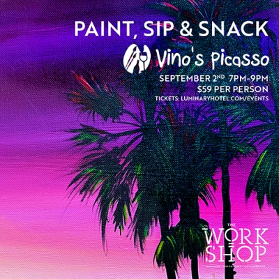 Paint, Sip & Snack with Vino's Picasso 4