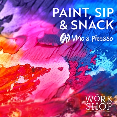 Paint, Sip & Snack with Vino's Picasso 2