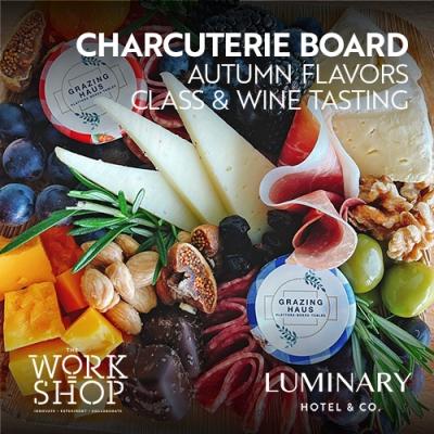 Charcuterie Board Class & Wine